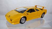 Rare Vintage Burago 1990 Lamborghini Diablo 1:24 Diecast Collectible Toy Car