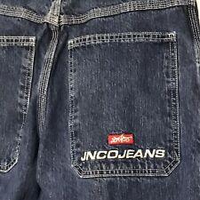 Vtg JNCO Jeans Wide Leg Skater Baggy Mens 32x29 Style M1179DYF Cut 024825