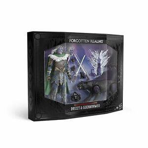 Dungeons & Dragons Forgotten Realms Drizzt Do'Urden Guenhwyvar Figures Hasbro