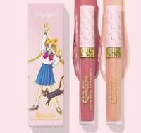 Sailor Moon X ColourPop Daylight Lip Kit Bundle Gloss Anime Cosplay Manga New