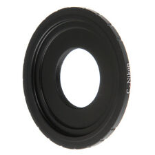 C Mount Lens to Nikon F AI Camera Adapter For D800E D5300 D5200 D7100 D610 DSLR