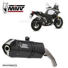 SUZUKI DL V-STROM 1000 Exhaust MIVV Speed Edge 2014- Steel Black