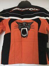 Arctic Cat Black/Orange Jacket Size 6 Kids