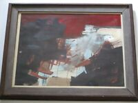 SHELDON KIRBY PAINTING ABSTRACT EXPRESSIONISM CALIFORNIA MODERNISM 1960'S ART