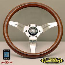 Nardi Steering Wheel 330mm DEEP CORN WOOD Polished spokes 5069.33.3000