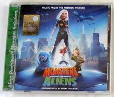 MONSTERS VS ALIENS - SOUNDTRACK O.S.T. - CD Sigillato