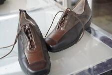 WALDLÄUFER Damen Comfort Schuhe Schnürschuhe mit Einlagen Leder Gr.6 G 39,5 NEU