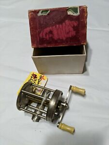 vintage PFLUEGER BUCKEYE 993J Kentucky style casting reel, with box