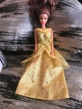 Mattel Disney Princess Beauty And The Beast Sparkle Yellow Gown Belle Doll