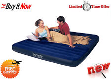 Air Bed Mattress Queen Size Intex Inflatable Downy Sleeping Camping In Sleep New