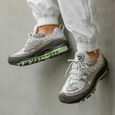 Nike Air Max 98 Grey, Mint & Reflective Silver Trainers Shoes UK 8.5, 9