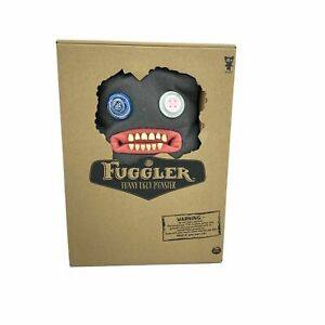 """Fuggler 12"""" Funny Ugly Monster CLAWEY Plush Grey New Unopened"""