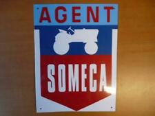 PB41N Placa Publicidad Chapado Age D'Or Automóvil N º 85:21 28 CM Someca Agent