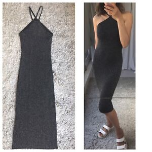 Australian Fashion Brand Bardot Stretchy Shimmer Bodycon Dress Sz XS-S
