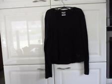 Jack Wofskin Damen Langarmshirt,Longsleeve,Shirt,schwarz Gr.XL