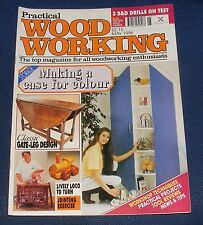 PRACTICAL WOOD WORKING MAY 1996 - CLASSIC GATE-LEG DESIGN