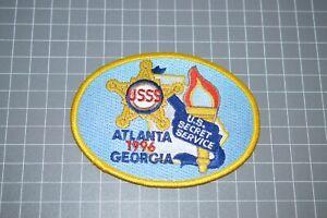 United States Secret Service Atlanta 1996 Georgia Patch (B17-Y)