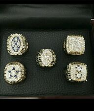 Dallas cowboys super bowl replica ring collection 5 rings! Display not included