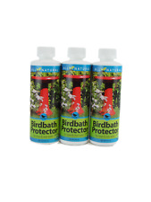 3-Pack Care Free Enzymes Birdbath Protector Made in Usa 95880Ds 8 oz.