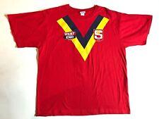 Vintage West End Beer T Shirt XL SA SANFL State of Origin Croweater Crow