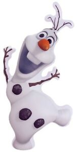 63cm Frozen Olaf Character Inflatable LIGHTS UP! SPECIAL OFFER ! Indoor- Outdoor