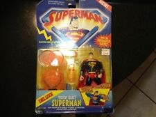 Superman Vision Blast Deluxe Action Figure with Electric Light-Up Action . 1996