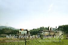 "Boston & Maine RR  1274,  4228  with ""Montrealer""  White River Jct. June1965"