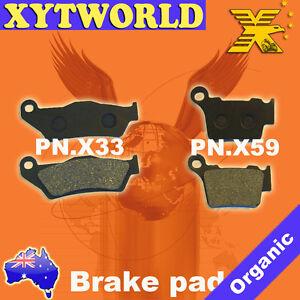 FRONT REAR Brake Pads for HUSQVARNA TC 449 4T 2011 2012 2013