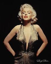 Marilyn Monroe Gold Dress Poster 16x20 inch