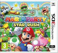 MARIO PARTY: STAR RUSH - NINTENDO 3DS & 2DS - NEW & SEALED - FREE UK POST!!!