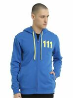 Mens Blue Fallout 4 Vault 111 Hoodie
