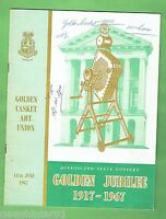 #T17.  BOOKLET - QUEENSLAND  STATE  LOTTERY 1917 - 1967