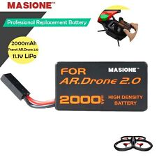 2000mAH 11.1V 20C LiPo Powerful Battery for Parrot AR.Drone 2.0 Quadricopter