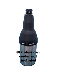 Long Neck Bottle ADAPTER ONLY, fits Yeti style stainless can cooler, coozie