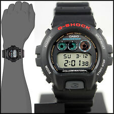 Casio DW-6900-1V Mens G-SHOCK Digital Divers Watch 200M WR 4 Alarms Resin New