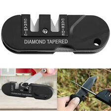 Multi-functional Kitchen Knife Folding Ceramic Tapered Sharpener Pocket Tools GW