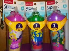 Playtex Sipsters The Insulator Spill-Proof Cup With Straw 9-Ounces ~ 6 styles