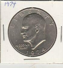 1974    EiSENHOWER  Dollar Coin  US Mint One dollar coin