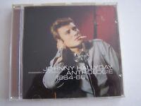 CD JOHNNY HALLYDAY REMASTERISE , ANTHOLOGIE VOL 1 , 2 CD , 44 TITRES . BON ETAT