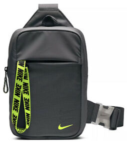 Nike Unisex Grey Sportswear Essentials Hip Pack Adjustable Strap Crossbody Bag