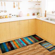 Non-Slip Kitchen Floor Mat Washable Rug Door Large Runner Carpet Hallway UK