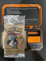 Pokemon Fossil Booster Pack Lapras WOTC 1999 Factory Sealed HEAVY 21 grams
