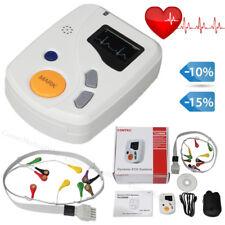 48 ore ECG Holter Dynamic EKG Machine 12 canali di sincronizzazione software