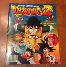 Dragon Ball Z Sticker Activity Album Saiyan Saga Rare Editorial Navarrete 1997