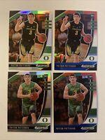 2020-21 Payton Pritchard Prizm Draft Rookie RC Lot Silver RWB 4 Card Lot Celtics