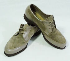 Hush Puppies Perforated Suede & Leather Casual Shoes size 7 1/2M