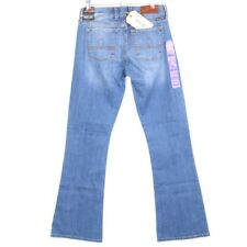 Womens Lucky BRAND 7wc1012 Sofia Boot Med Wash Denim Jeans 4/27 X 32 Curvy