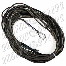 "40/' x 3//16/"" Extension Diamond Braid Synthetic Rope Jeep UTV ATV Winch Line Cable"