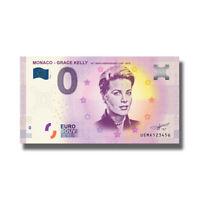 2018 Monaco UEMA Grace Kelly Euro Billet Souvenir Banknote Euro Schein