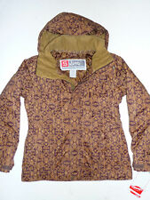 Sims T-Buck Jacket Snowboard Ski Waterproof Insulate Womens Coat Paisley XS $200
